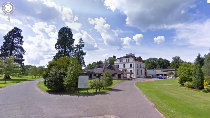 Auchlochan House on google street view.