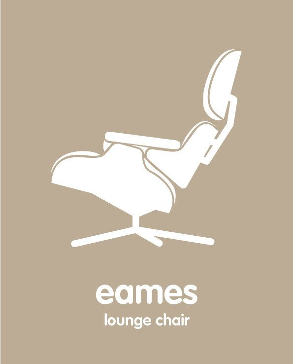 Mid Century Modern Eames Lounge Chair   8x10 poster  Mid century modern  nursery kids playroom59 best Eames Lounge Chair   Ottoman images on Pinterest   Eames  . Eames Chair Craigslist Los Angeles. Home Design Ideas