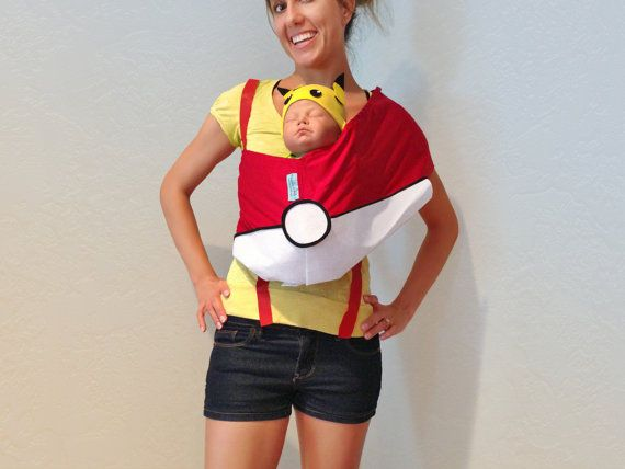 Anime-Inspired Pair Costumes - Be Part of a Team with your Baby in a Pokemon Halloween Costume