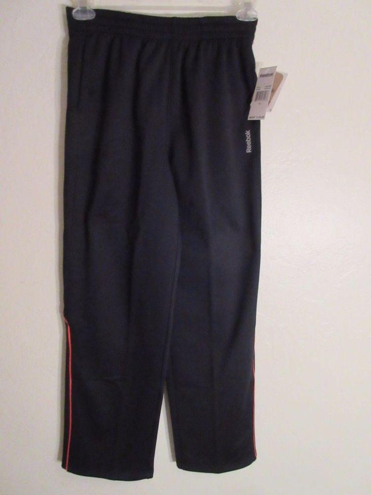 SALE Mens Reebok Sweatpants XL Black  #adidas #TrackSweatPants