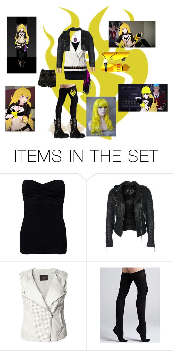 """Yang Xiao Long - Hunter Outfit"" by street-xxx ❤ liked on Polyvore featuring art, RWBY and yangxiaolong"