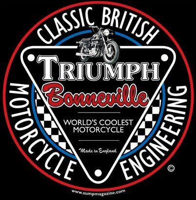 Classic British Motorcycle T Shirt From Sump Triumph Motorbikes Triumph Bikes Triumph Motorcycles