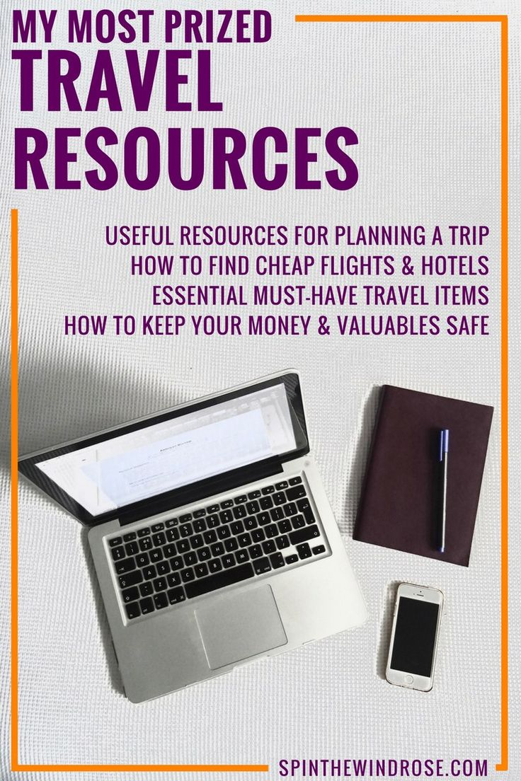 A page dedicated to my travel resources: how I plan a trip, book flights and accommodation, manage my money and a list of my must-haves when packing.