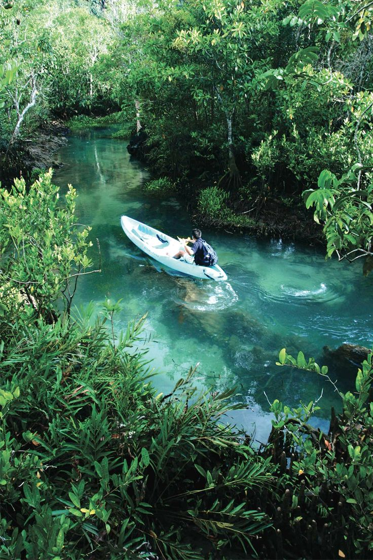 River tours in Krabi at Rayavadee Resort