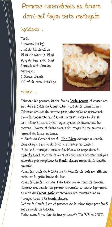 fiches recette du mois - Pati-Hands Cook