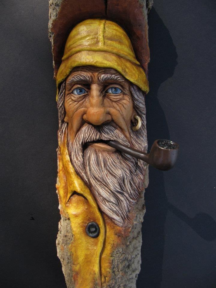 Tree Man Walking Stick Google Search Wood Carving