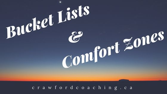 Let's talk about comfort zones. Recently, I knocked three more adventures off my bucket list with the help of some amazing friends. Wooot!