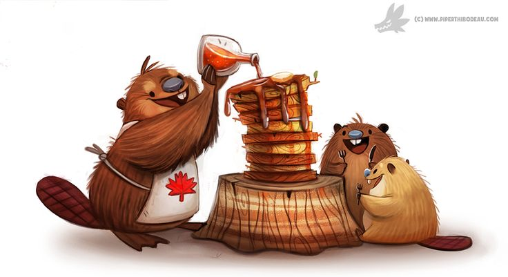 Daily Painting #953. Happy Canada Day! (OG) by Cryptid-Creations on DeviantArt