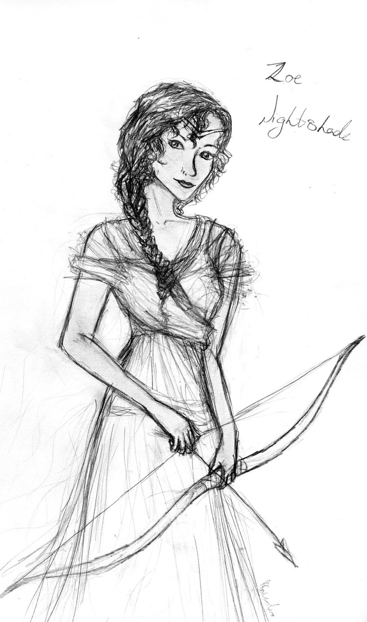 Zoe Nightshade <3 from Titans Curse (Percy Jackson Series) She is a heroine :)