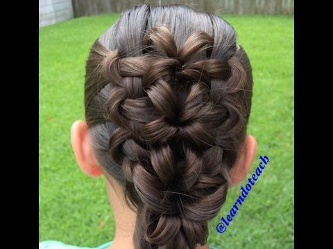 Kaleidoscope of Lilies followed with a Twisted Edge Braid - YouTube