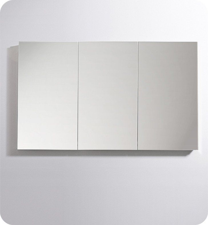 Fresca Fmc8020 60 Wide X 36 Tall Bathroom Medicine Cabinet With Mirrors Mirror Cabinets Bathroom Medicine Cabinet Cabinet