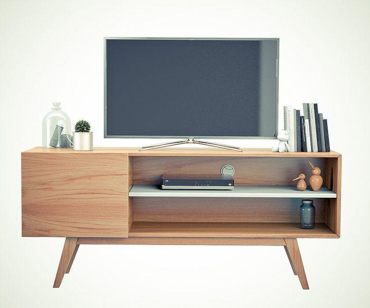 181 mejores im genes sobre televisores vintage y - Mueble television vintage ...