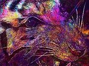 "New artwork for sale! - "" Tiger Cat Stuffed Taxidermy Museum  by PixBreak Art "" - http://ift.tt/2tz0kNM"