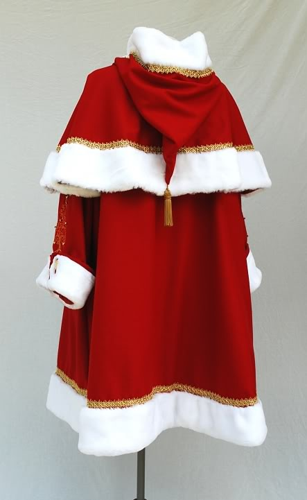 Mrs Claus Costume Pattern