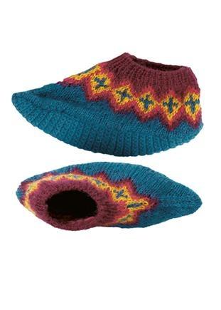 People Tree fair-trade Fairisle slippers ($19.95AUD)