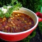 Smokin' Scovilles Turkey Chili - This is a hearty and relatively low-fat chili recipe that is guaranteed to satisfy even the most sadistic spicy food lover...REAL MAN FOOD.