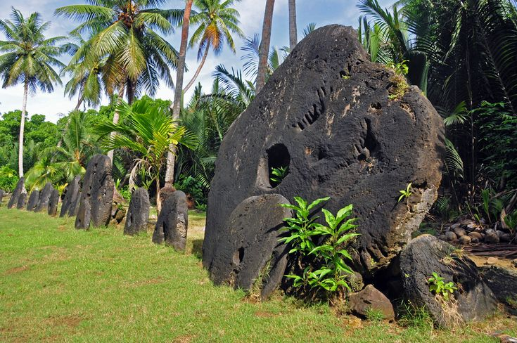 Stone Money Bank, Yap, Federated States of Micronesia | Yap is an island in the Caroline Islands of the western Pacific Ocean and a state of the Federated States of Micronesia. The Stone Money Banks are located throughout the island. The money is still used, but more for traditional  exchange.