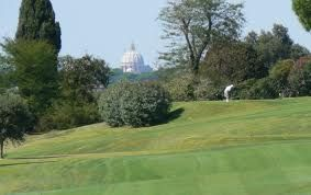 Ante Aguabendita de Roma adentro Rio - 2016 vs 2022 Ryder Cup http://www.golfmarcosimone.com/it/ryder_cup/ http://www.italy2022rome.com/ http://www.federgolf.it/NewsDetails.aspx?id=2574  http://www.golfroma.it/?page_id=15&lang=it Hole 3 View St. Peter's Basilica Cupola
