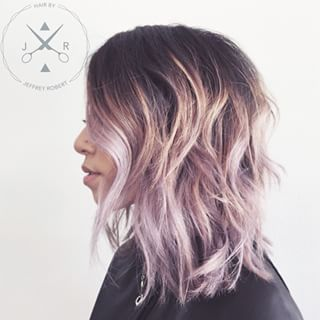 asian lavender hair - Google Search