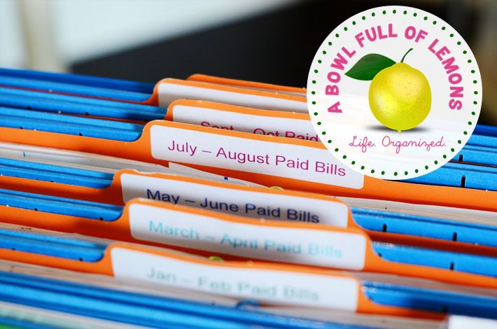 Paid Bills (6 folders - 1 for every 2 months). Throw these papers out at the end of the year.Bowls Full, Organic Ideas, Organic 101, Bill Organic, 710 470 Pixel, Organic Offices, Paid Bill, Home Offices, Offices Organic
