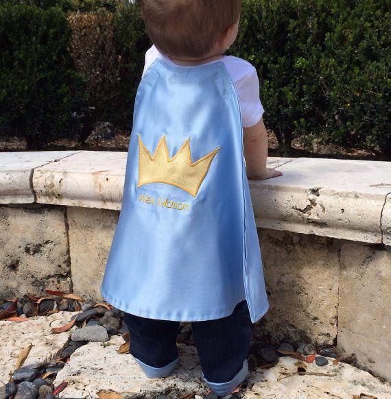 Prince charming Boy first Birthday Onesie & Cuffed by ByEllenBaby