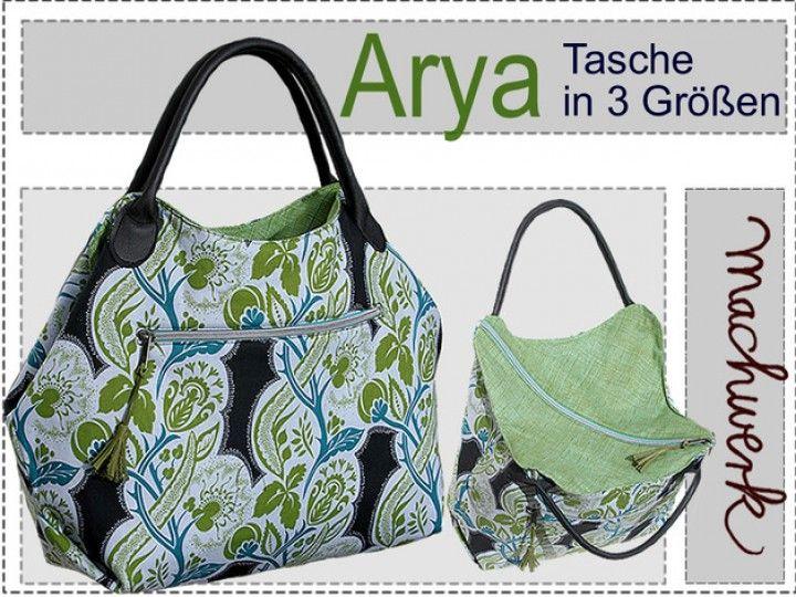 Arya Tasche Mit Diagonalem Reissverschluss Pinterest Pouch