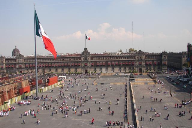 10 Essential Mexico City Sights: The Plaza de la Constitución, or Zocalo