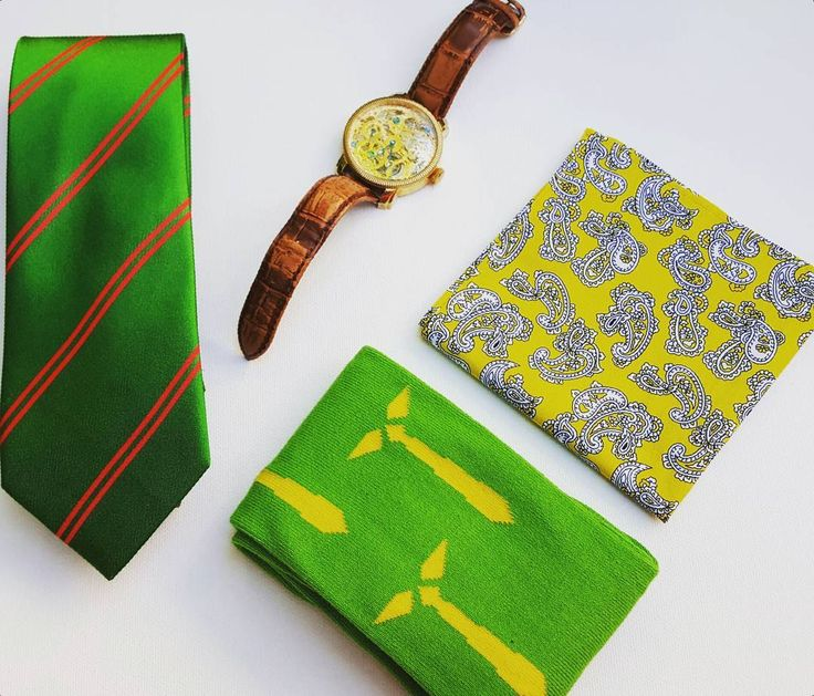 Wearing green today. Love this tie and our signature logo sock. #edc #everydaycarry #whichcolourareyou #green #silktie #mensfashion #mensaccessories #canadafashion #yycstyle #yourstyleawaits