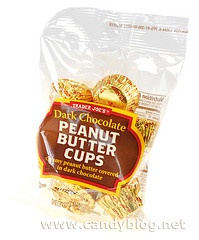 Heavenly... Trader Joe's dark chocolate peanut butter cups