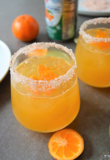 Clementine's Lime Margaritas Clementine is a hybrid between a mandarin orange and a sweet orange. Very fragrant and sweet. For today's recipe I used San Pellegrino Clementina sparkling beverage and Grand Marnier liqueur. First prepare the clementine simple syrup. Combine the agave, water and clementine in a small saucepan over medium heat. Simmer for 10...Read More