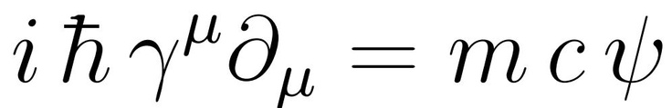 The Dirac Equation describes fields corresponding to elementary spin-½ particles (such as the electron) as a vector of four complex numbers (a bispinor), in contrast to the Schrödinger equation which described a field of only one complex value.