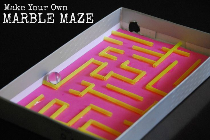 #marble maze #DIY #craft kids-042
