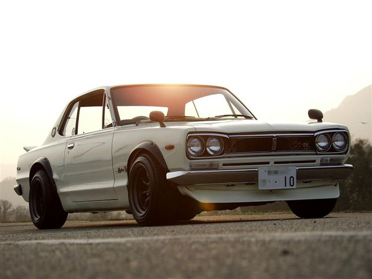1971 Nissan Skyline GT-R KGC10. I think this may be my favorite skyline..