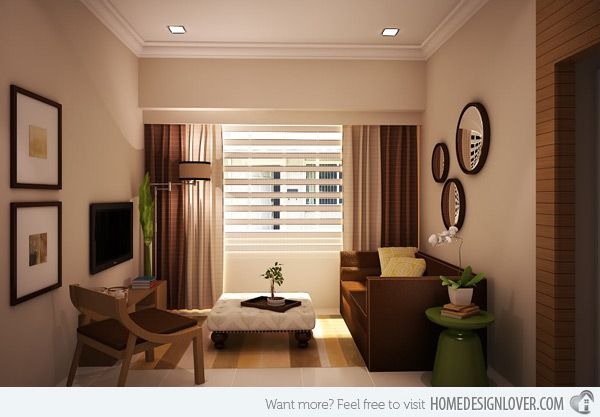 15 zen inspired living room design ideas living space - Living room decor for small spaces ...