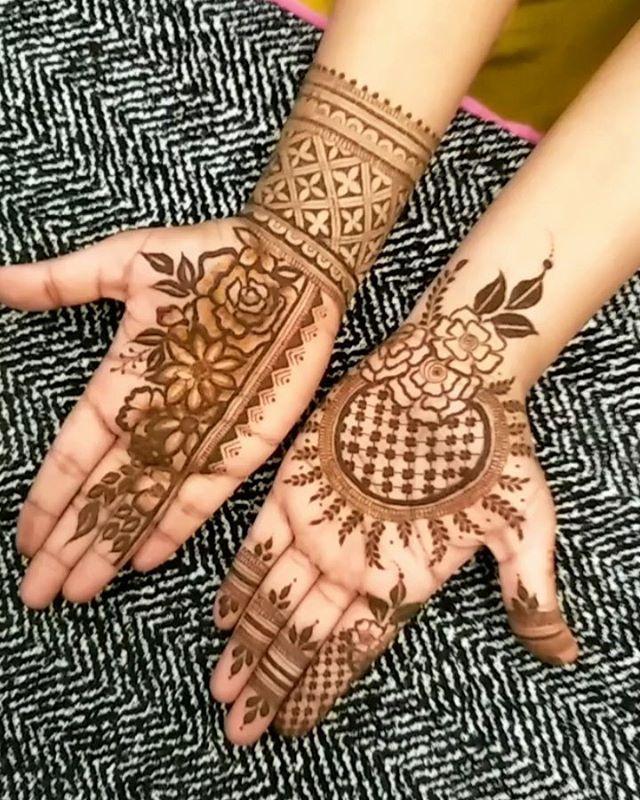 Mehandi Henna نقش حنى By Nailloungemuscat 96963244 حنى حناء نقش حنا Mehandi Henna نقش حنى By Naillo Hand Henna Hand Tattoos Henna Hand Tattoo