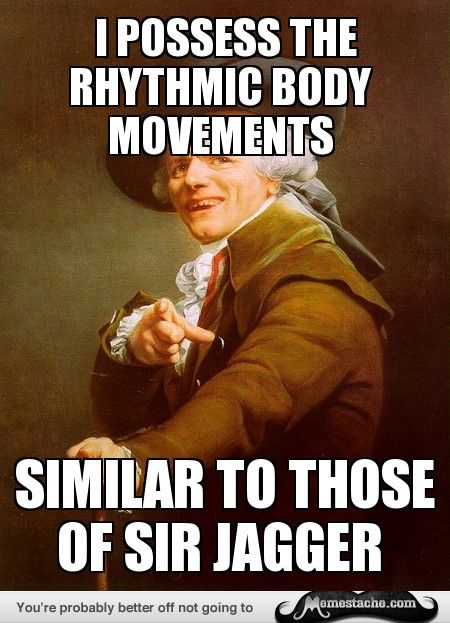 Joseph Ducreux - moves like jagger
