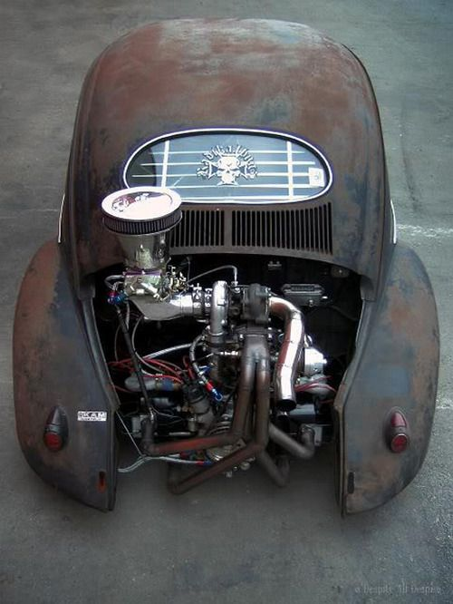 Turning an old, rusty Beetle into the ultimate power monger... But does it actually run??
