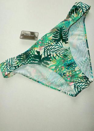 Купальные плавки бикини в тропический принт reserved. р. xl. (Reserved)  за 90 грн.