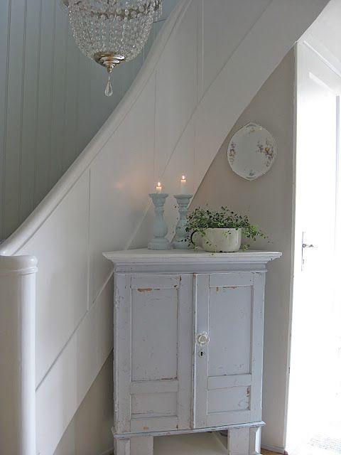Scandinavian stair banisters...