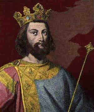 Louis VII of France, who married Eleanor of Aquitaine. They divorced after the stress of being royals. He got custody of their daugters, Marie and Alix.