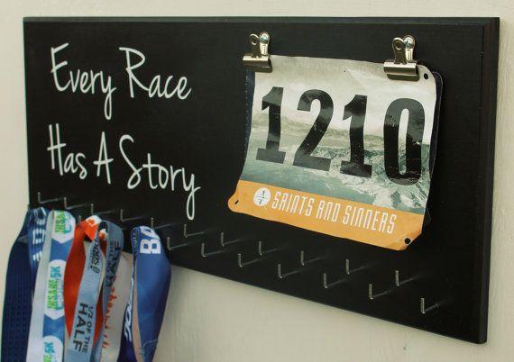 Running Medal Holder-23 Hooks-Every Race by RsCustomMedalDisplay