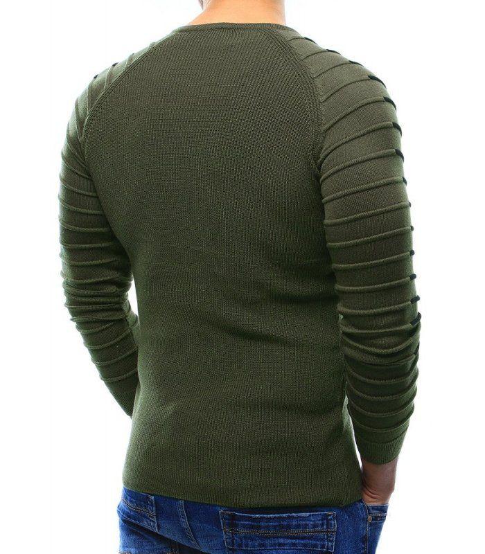 Pánsky khaki sveter