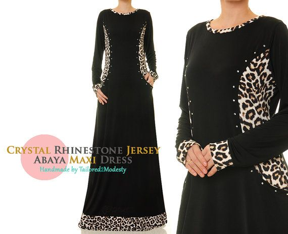 FREE SHIPPING Crystal Rhinestone Side Pockets by Tailored2Modesty