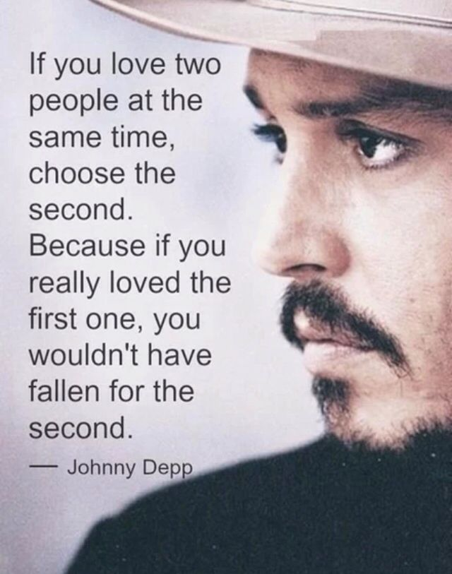 Johny Depp quote