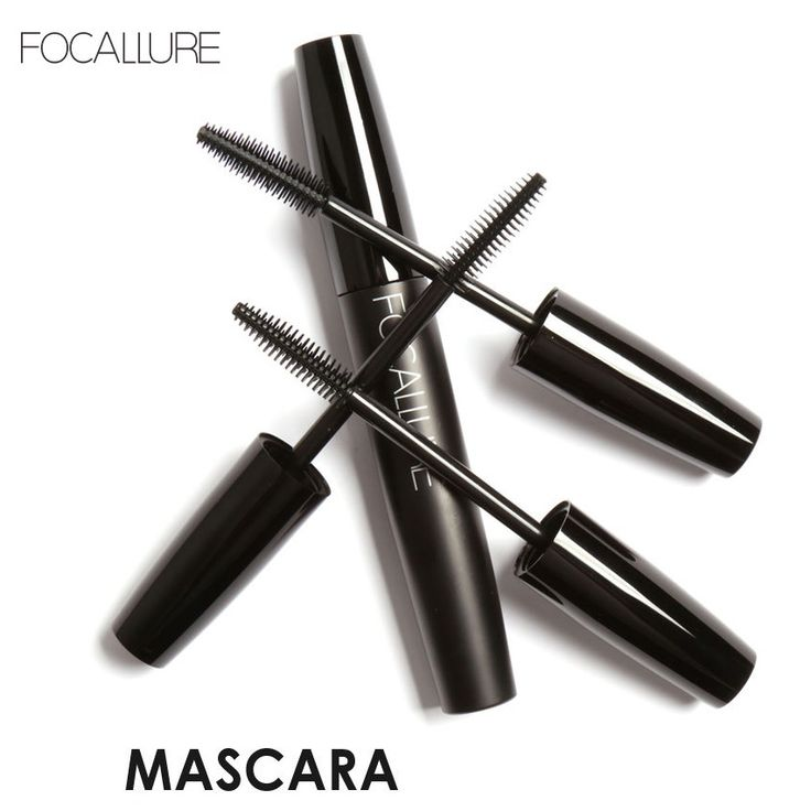 Focallure Mascara Professional Volume Curled Lashes Black Mascare Waterproof Curling Tick Eyelash Lengtheing Eye Makeup Mascara