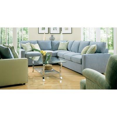 Rowe Furniture Monaco Mini Mod Sectional Sofa