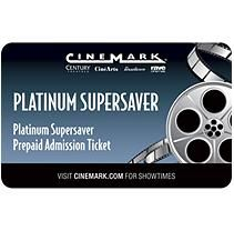 Cinemark - Utah Gift Card- 2 Tickets