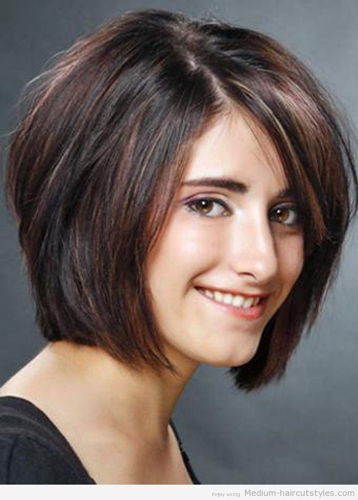 2014 Medium Hairstyles with Bangs   ... Bangs - Medium Layered Bob Hairstyles 2014 – Medium Haircuts  Crissy liked