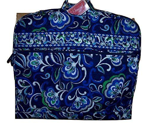 Vera Bradley Garment Bag - MEDITERRANEAN BLUE