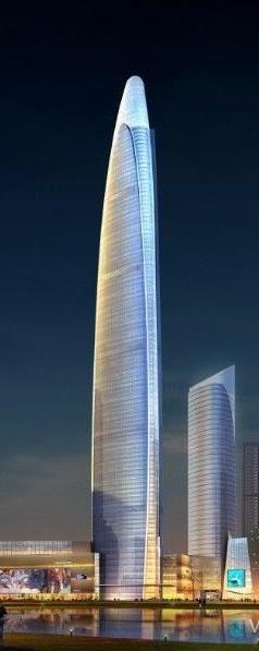 Futuristic Architecture, Tower, Skyscraper, Shenyang Dragon Dream Pacific Center, Shenyang, China